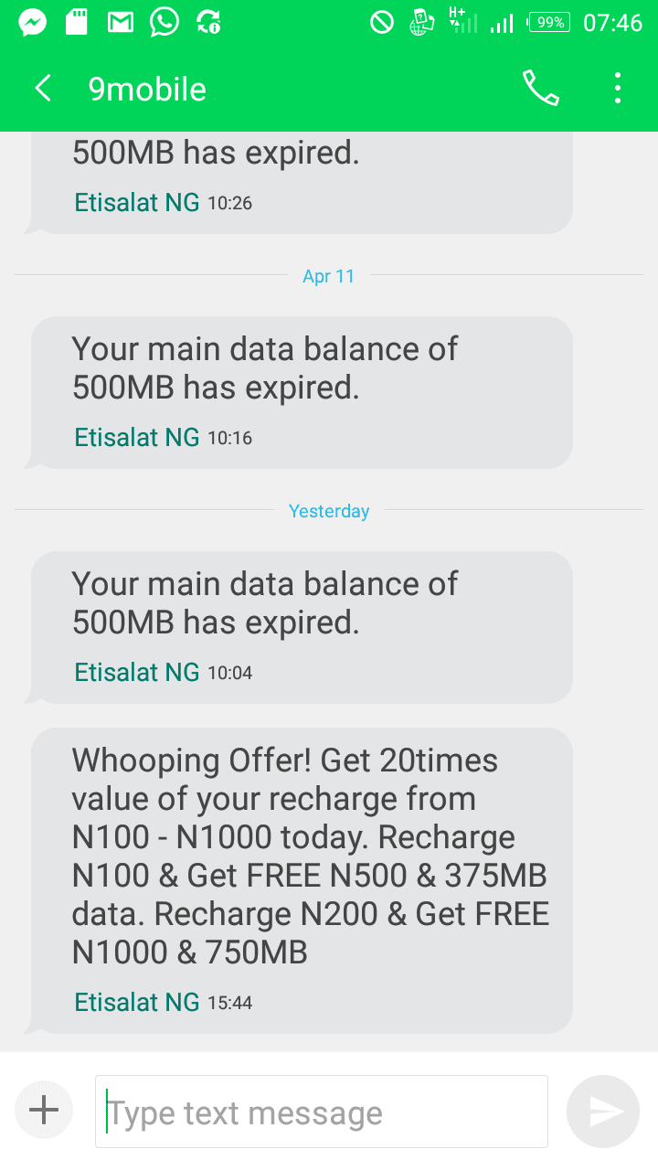 Do you have an abandoned 9mobile SIM? It's time to activate and enjoy welcome back bonus