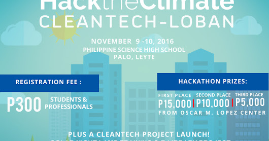 Hack the Climate: Cleantech-loban