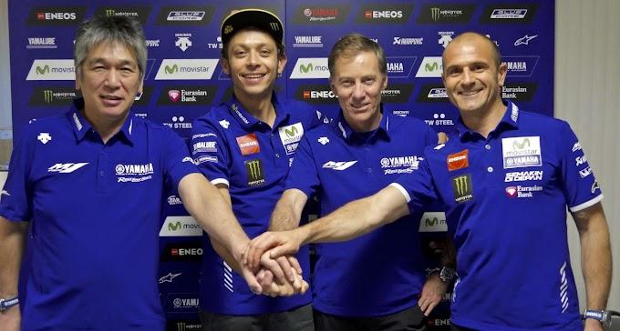 Valentino Rossi Resmi Tekan Kontrak 2 Tahun dengan Yamaha