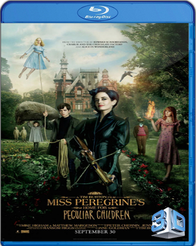 Miss Peregrine's Home for Peculiar Children [2016] [BD50] [Latino] [3D]