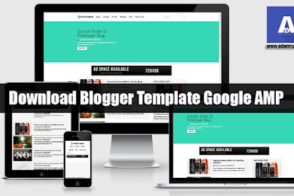 Download Blogger Template with Google AMP