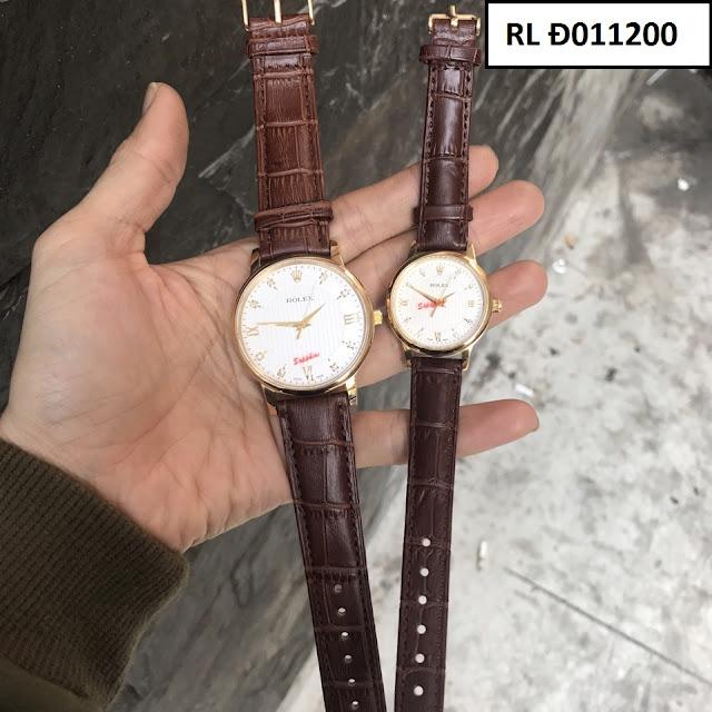 Đồng hồ dây da RL Đ011200