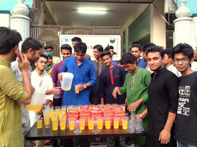 IFTAR FOR ALL, organized by Department of CSE @ DIU-UC