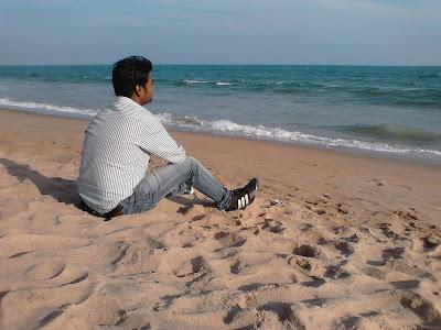 Puri Beach, Blogger in Puri, Ujjwal Kumar Sen