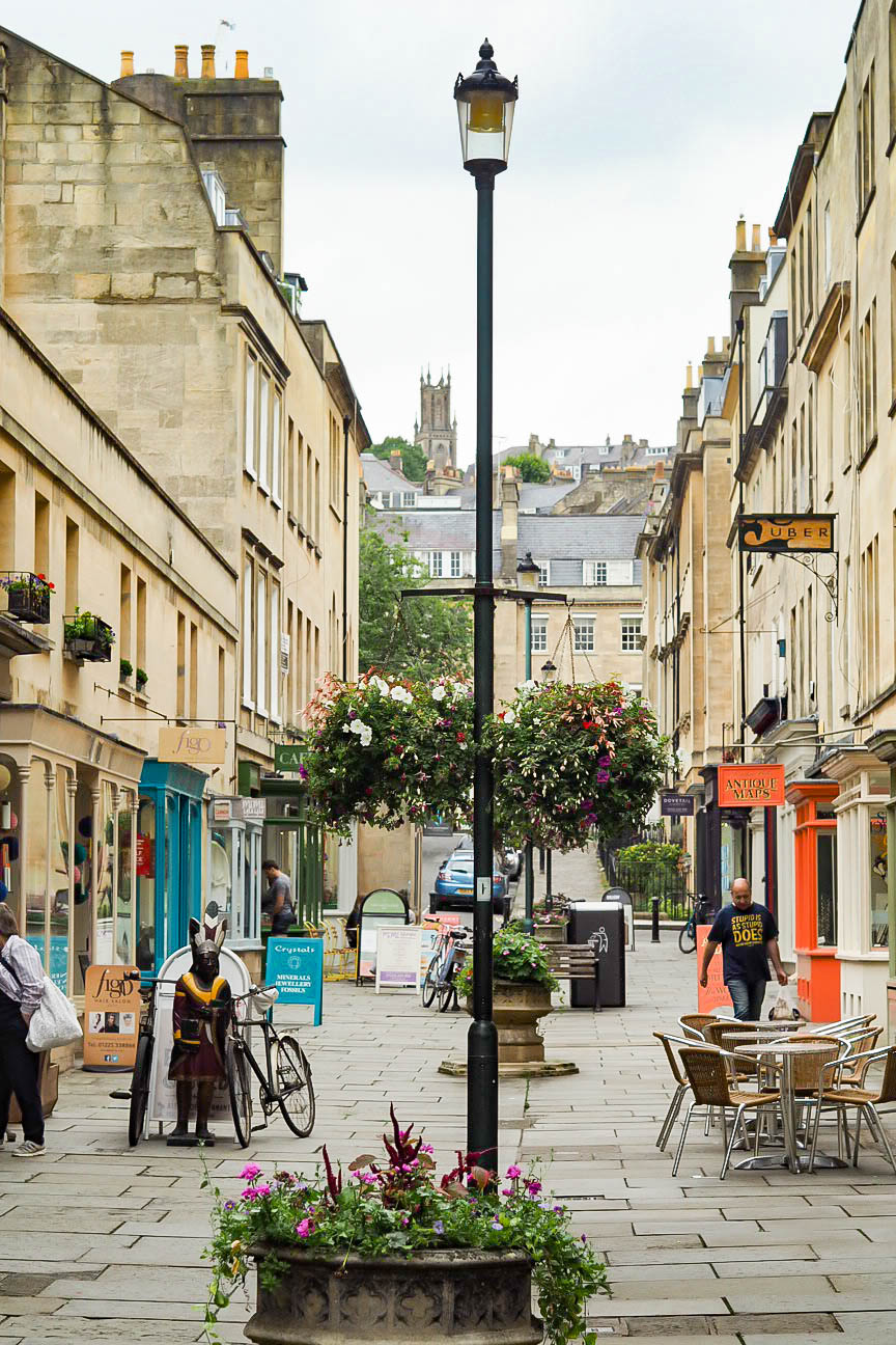 Ancient streets of Bath
