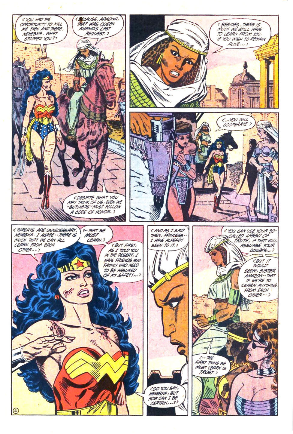 Read online Wonder Woman (1987) comic -  Issue #33 - 5