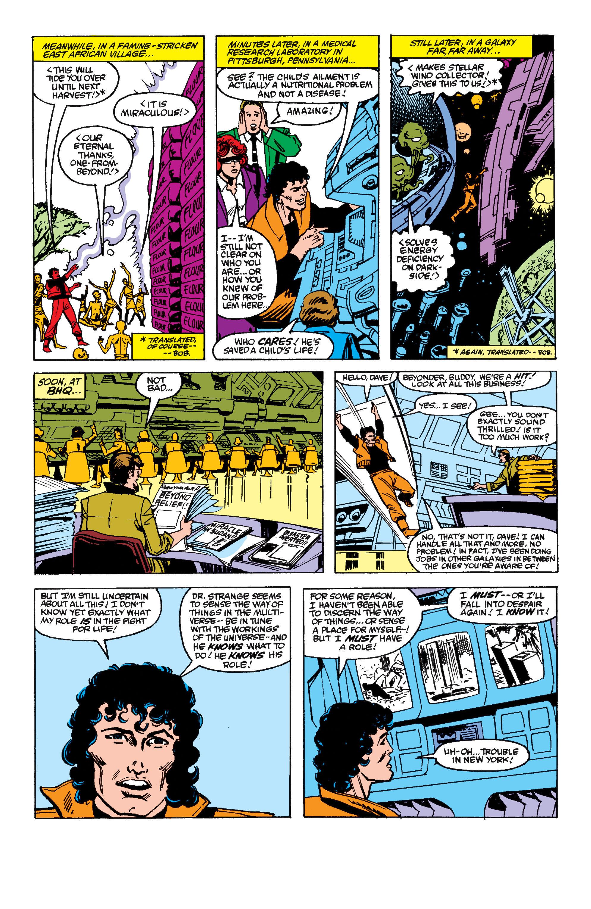 Read online Secret Wars II comic -  Issue #6 - 15