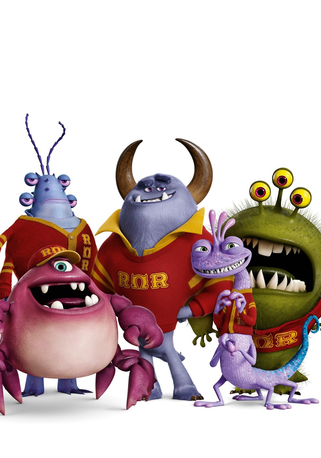 End Monsters Credits University