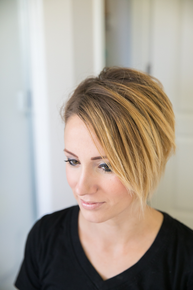 Easy Front Twist Tutorial For Short Hair Or A Long Pixie One