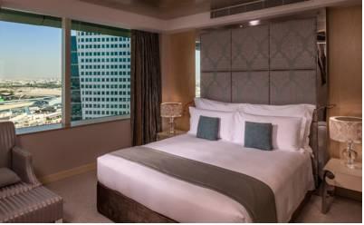 فندق كراون بلازا دبي فيستيفال سيتي