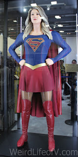 SuperGirl costume from the CBS/WB show