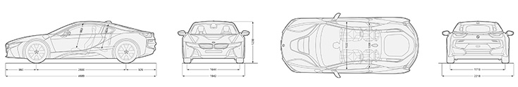 Bmw I8 Concept Blueprint Cars Booster