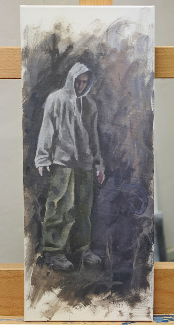 adam stolterman hoodie oil painting canvas art
