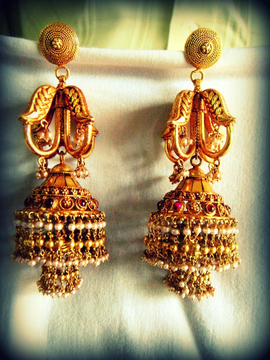 Indian Jewellery And Clothing Different Kinds Of Jhumkas