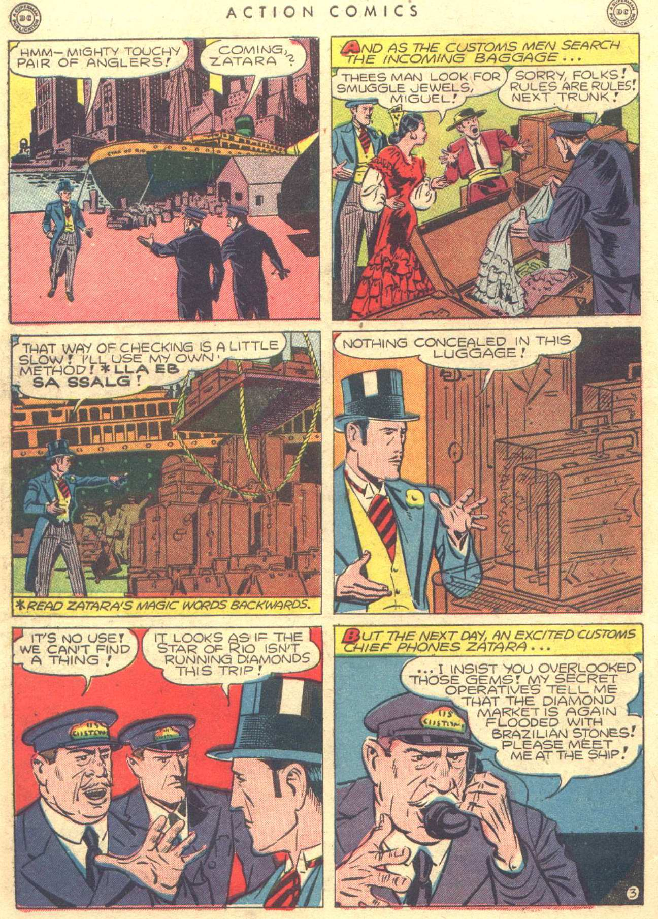 Read online Action Comics (1938) comic -  Issue #81 - 44