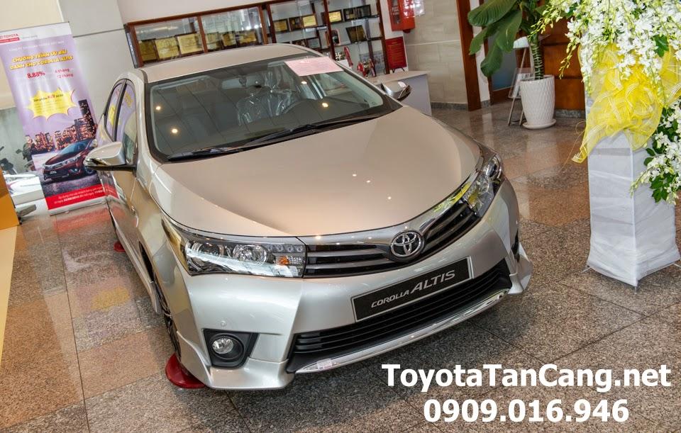 corolla altis 20 v toyota tan cang 1 - Đánh giá Toyota Corolla Altis 2.0V CVT 2015 - Giá trị đến từng chi tiết - Muaxegiatot.vn