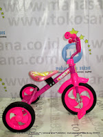 PMB 919 safari BMX baby tricycle-pink