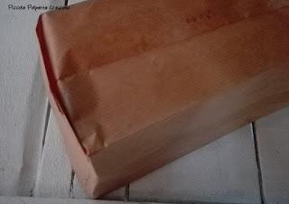 fissaggio della lanterna di carta