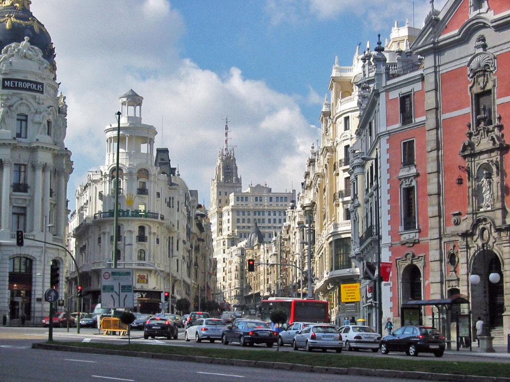 Madrid: World Visits: Madrid City Spain Capital