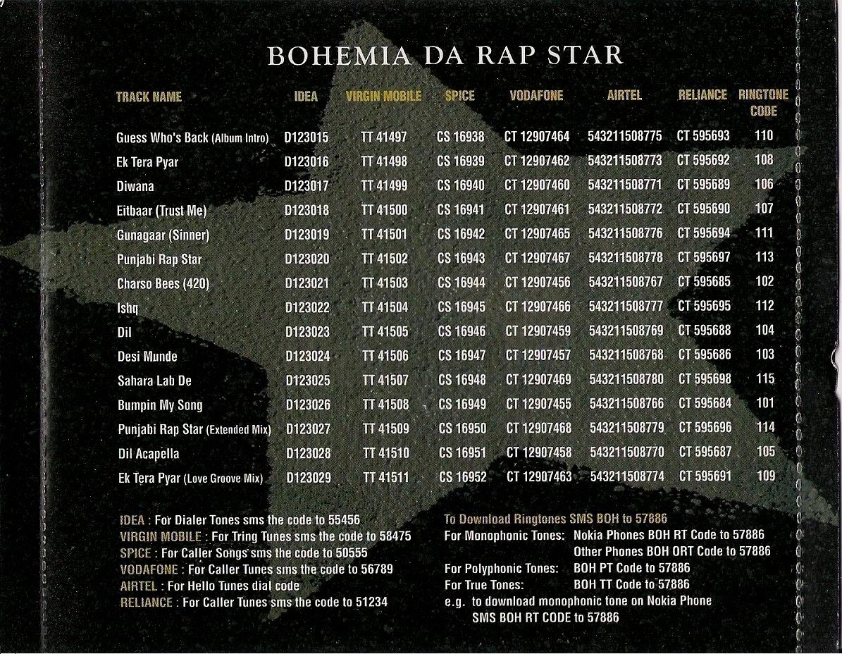 Diwana song by bohemia from da rap star bohemia, download mp3 or.