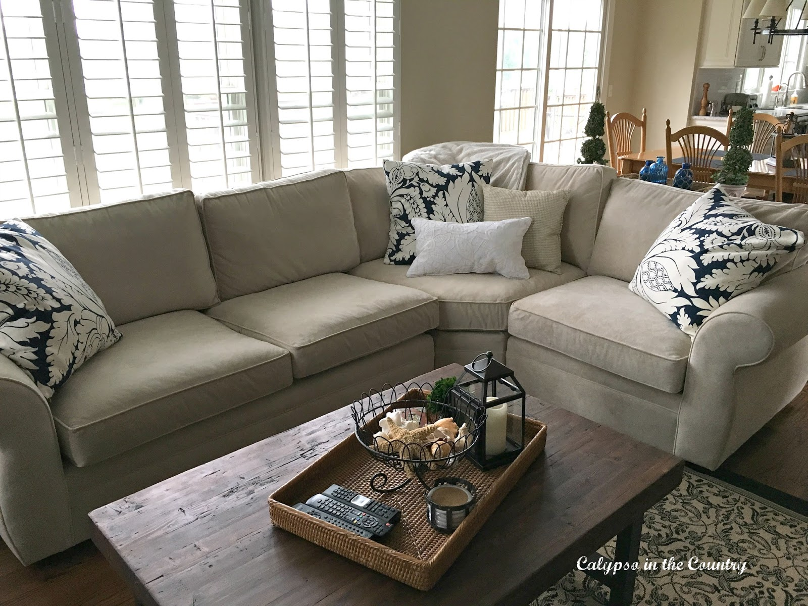 New Sectional Sofa - Room in Progress