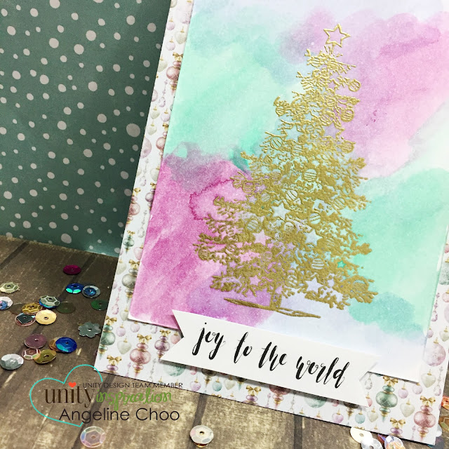 ScrappyScrappy: Spruce the Season - Unity Stamp #scrappyscrappy #unitystampco #stamp #stamping #christmas #papercraft #holiday