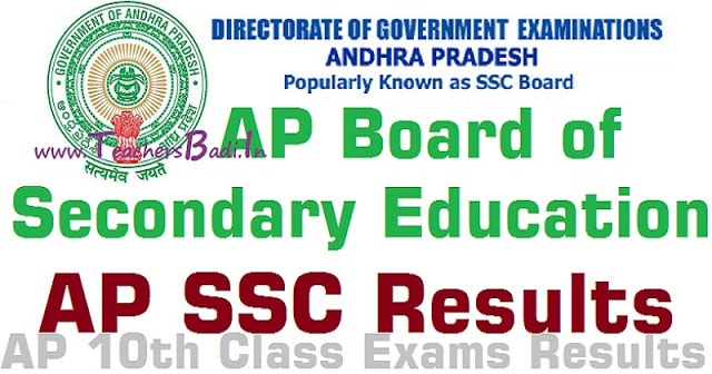 AP SSC Results 2019,AP SSC 10th Class Exams Results,SSC Results