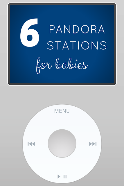 My Favorite Pandora Stations For Babies The Inspired Hive