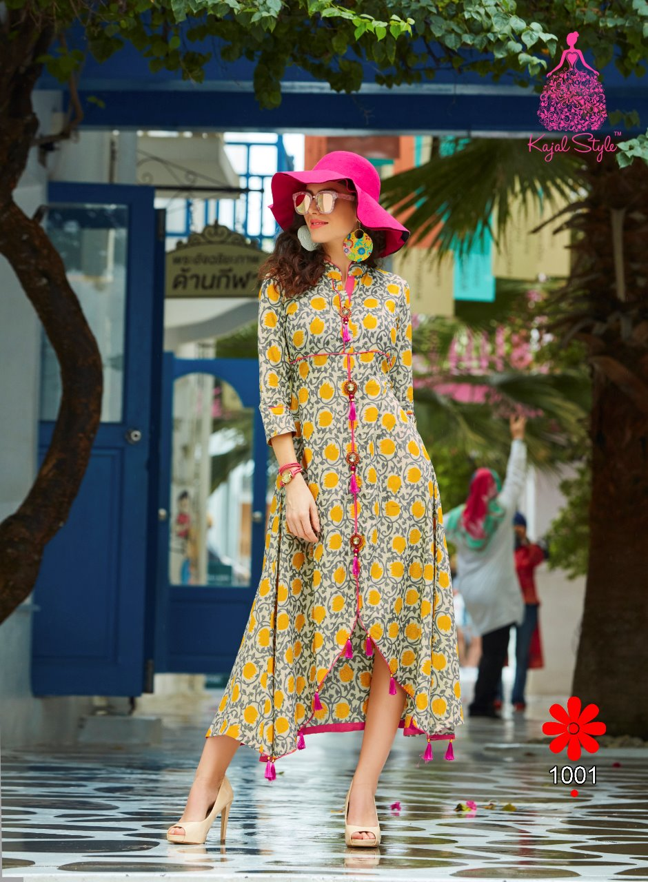 F. MONZA VOL-1-New Arrival Designer Loan cotton Kurti