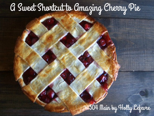 Cherry pie shortcut recipe