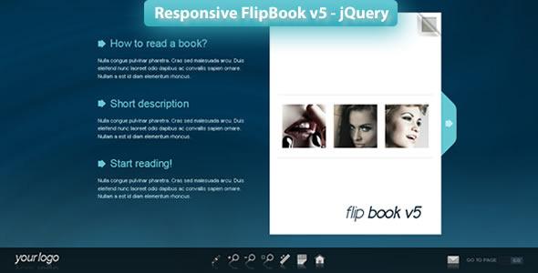 Responsive Flip Book