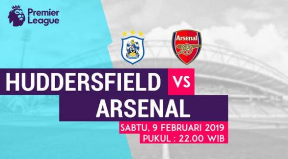 Live Streaming Huddersfield vs Arsenal
