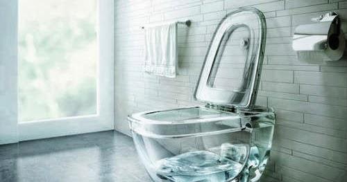 Creative transparent toilet, Latest model toilet design ... on Model Toilet Design  id=52570