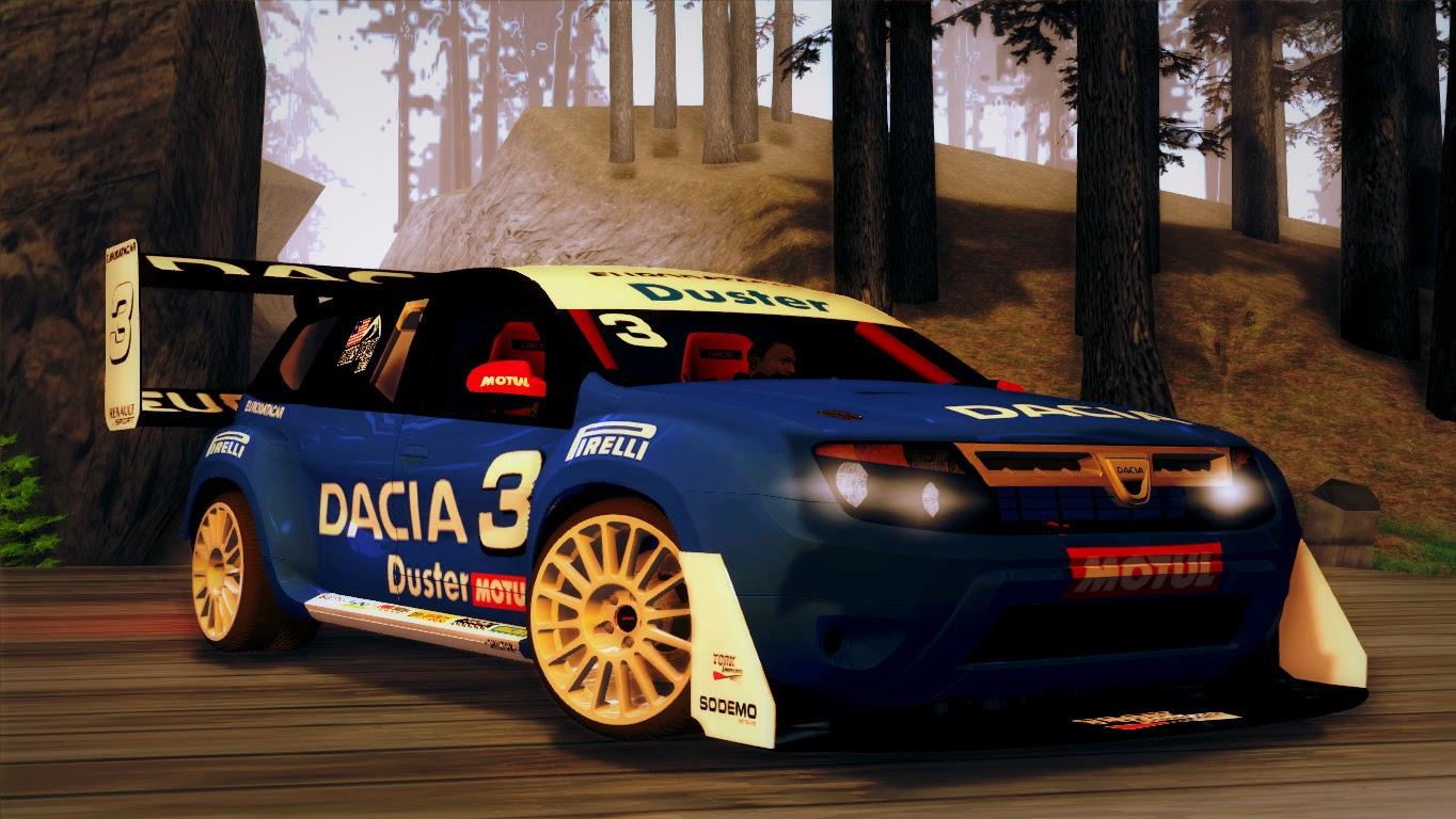 Dacia Duster Rally Gta San Andreas
