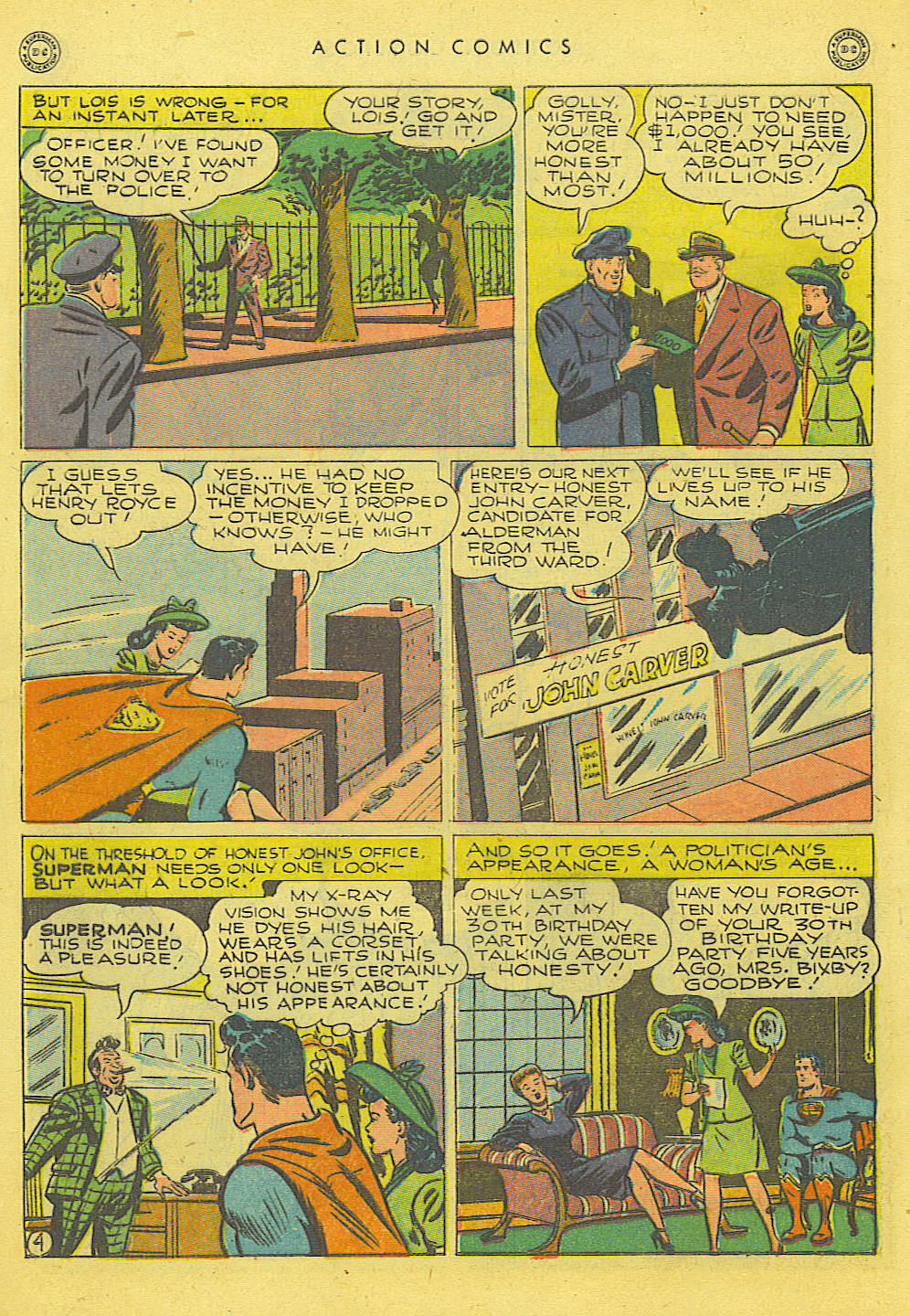 Read online Action Comics (1938) comic -  Issue #114 - 6
