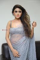 Sony Charishta in Saree Deep neck Choli ~  Exclusive 21.JPG