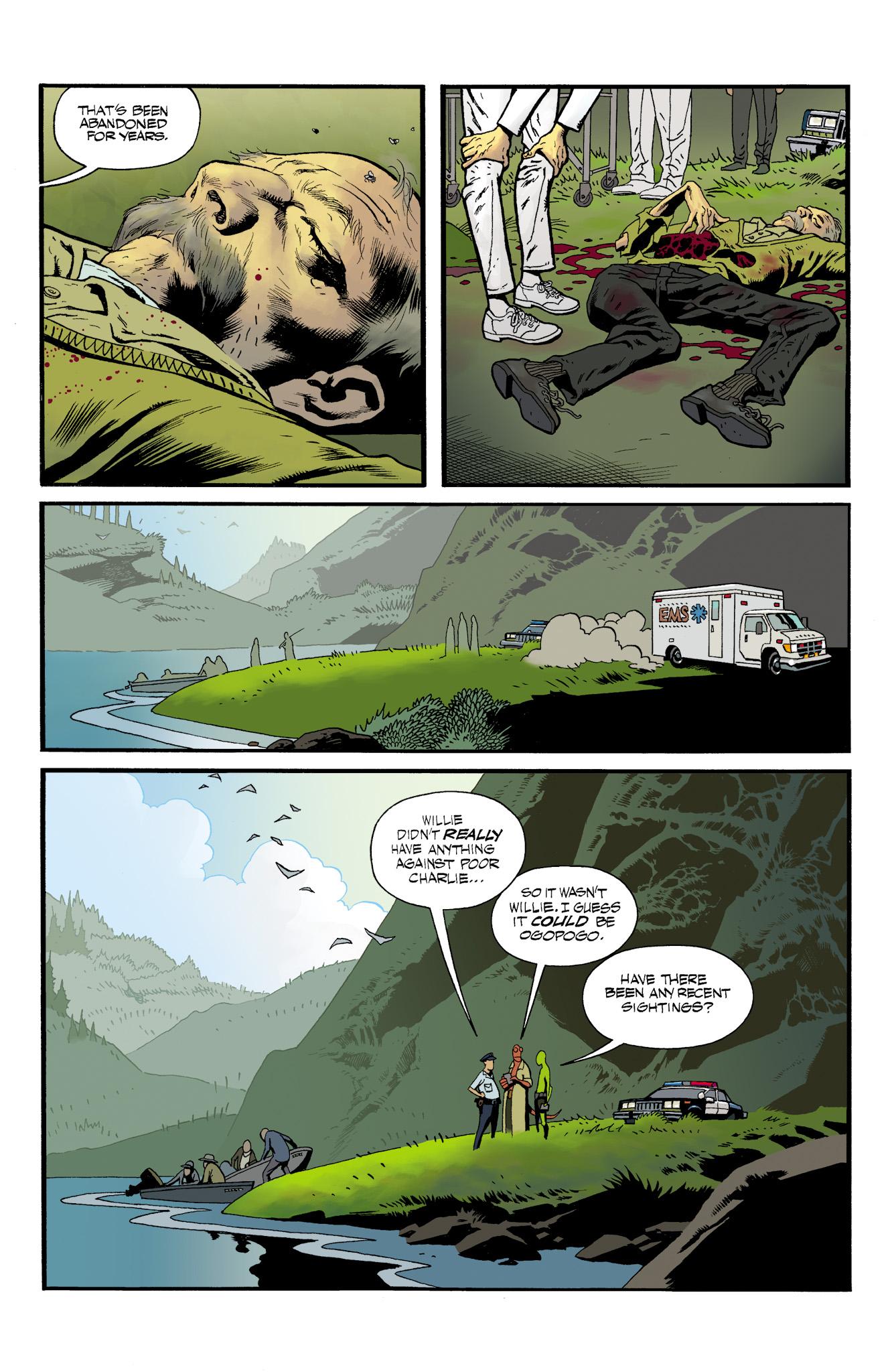 Read online Abe Sapien comic -  Issue #23 - 8