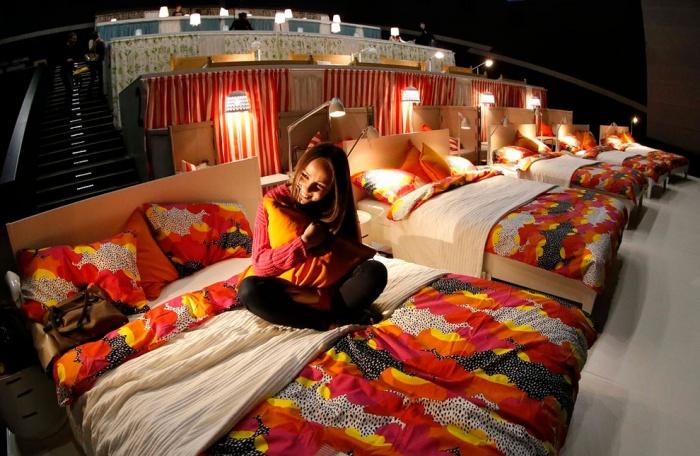 Phát sốt với rạp cinema giường nằm siêu đẳng cấp chỉ có ở Sài Thàn7h