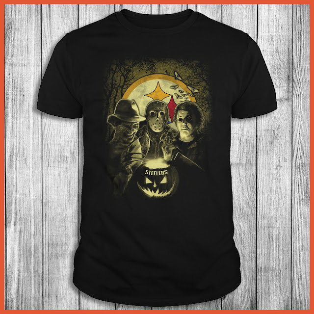 Pittsburgh Steelers Halloween Horror Movie Shirt