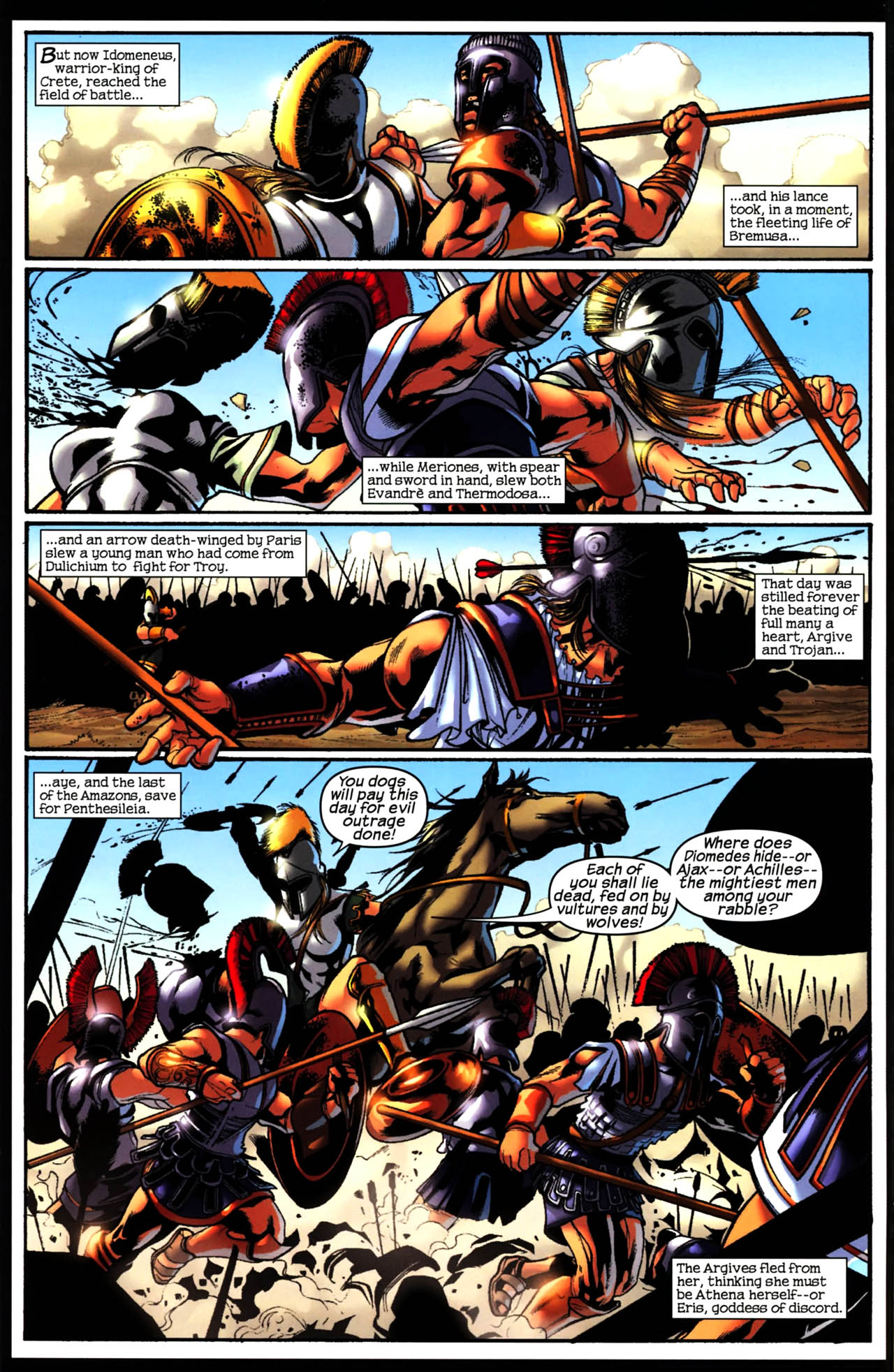 Read online Trojan War comic -  Issue #3 - 9