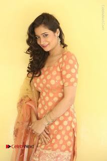 Telugu Actress Santoshi Sharma Latest Stills in Salwar Kameez at HBD Movie Teaser Launch  0021.JPG
