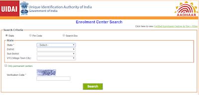 Aadhaar Card Enrollment in Gujarat