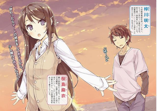 Anime Seishun Buta Yaro: Tráiler y nuevo miembro en el reparto