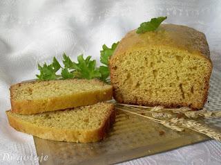 Chlebek z mąką kukurydzianą