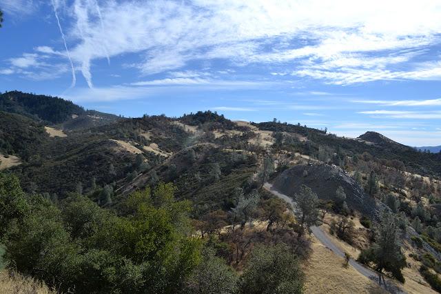 rocky hills in oak savanna