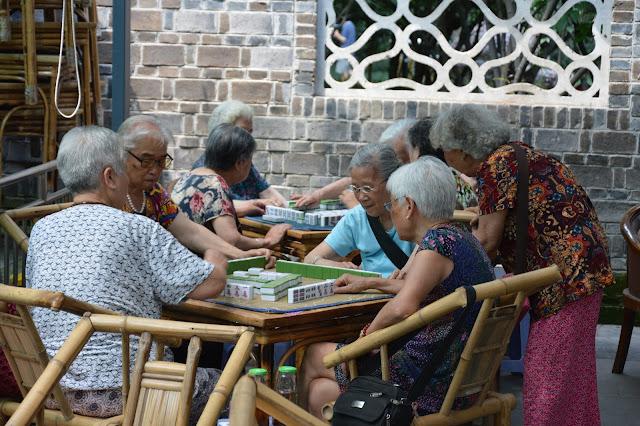Club du 3ème âge de Mahjong