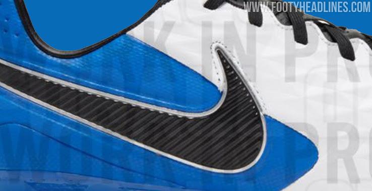 regular Agacharse Encogerse de hombros  Blue / White / Black Nike Tiempo Legend 2020-21 Boots Leaked - Footy  Headlines