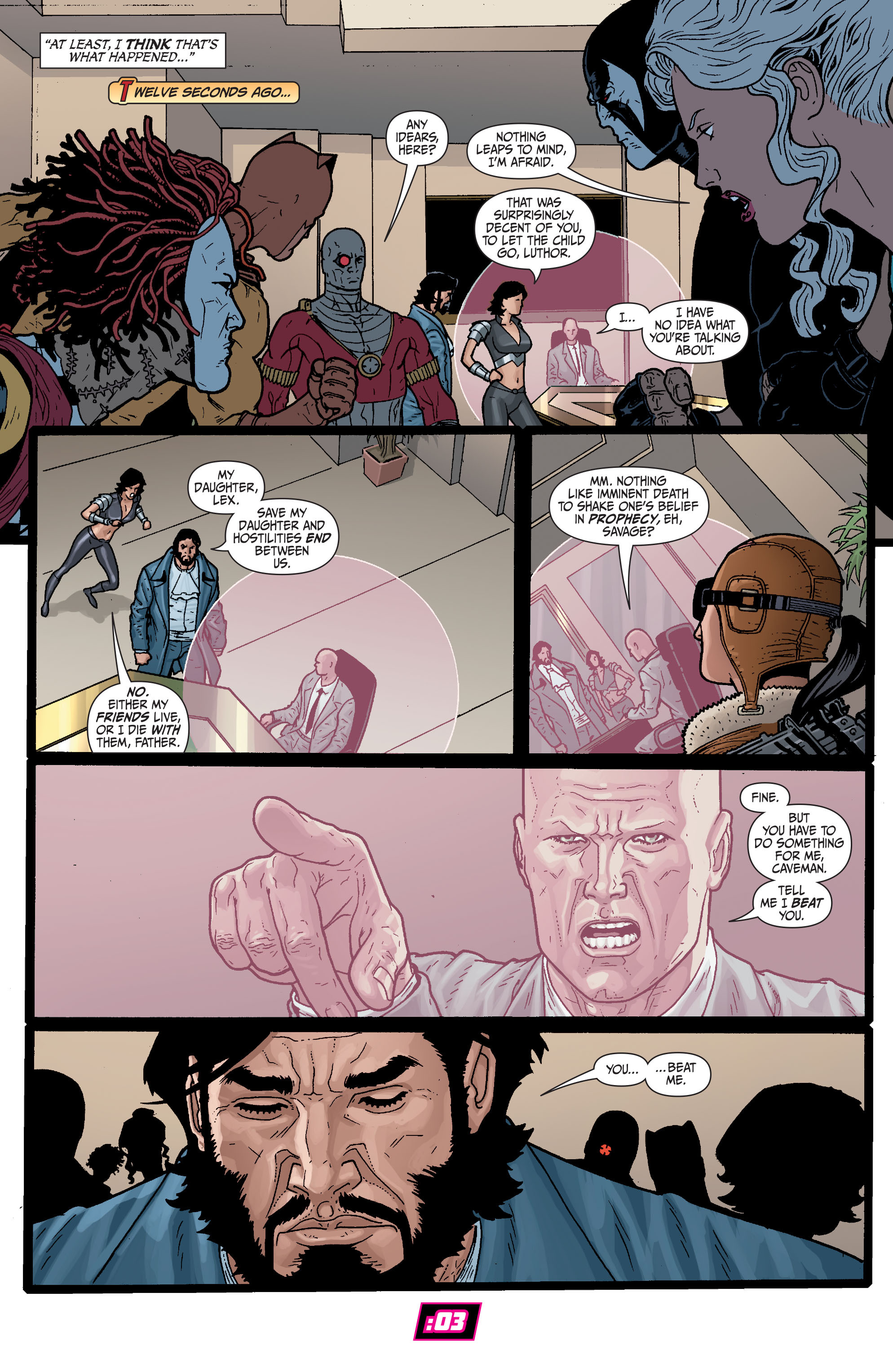 Read online Secret Six (2008) comic -  Issue #29 - 11