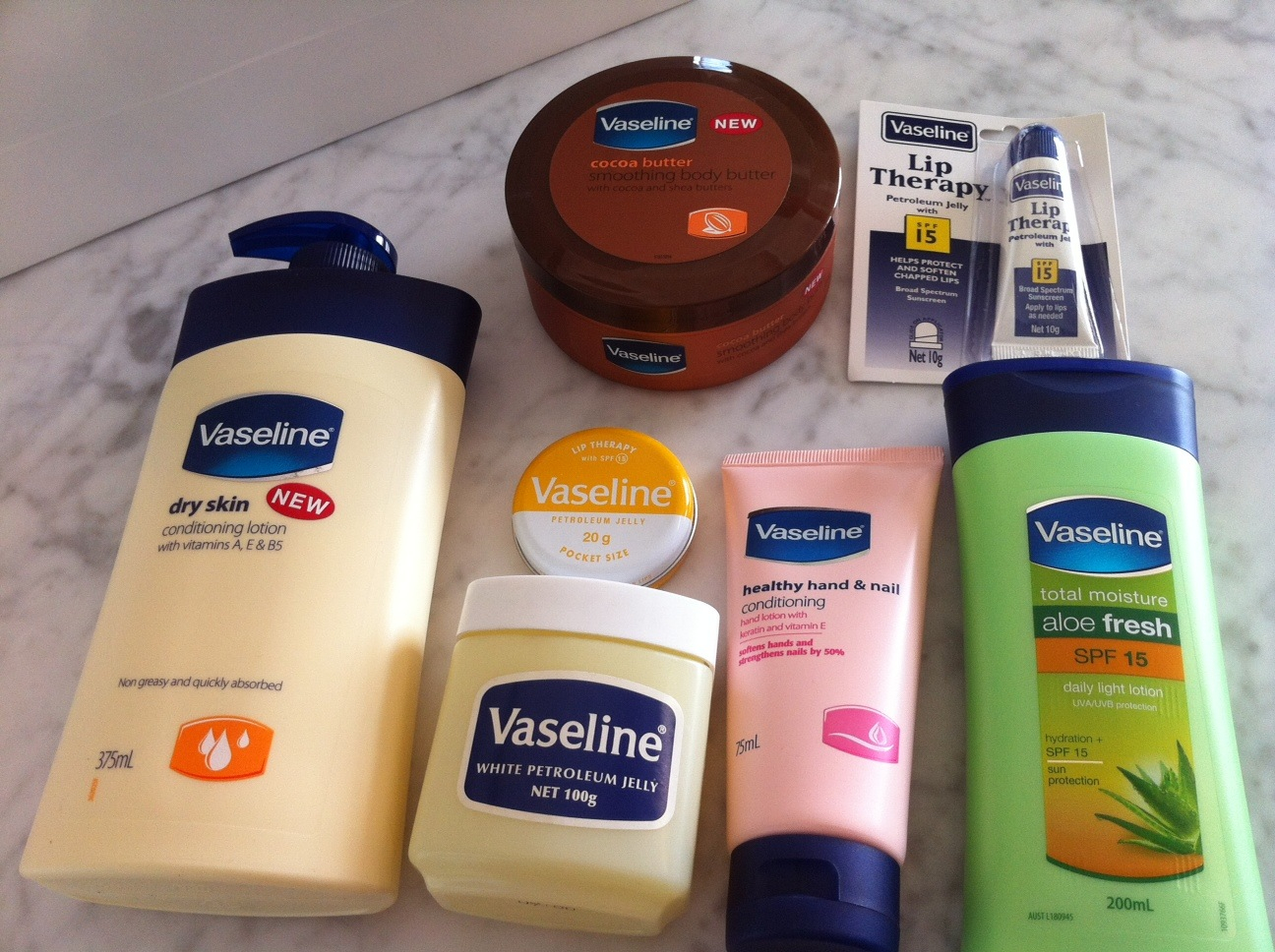Vaseline Total Moisture Healthy Hand Nail Conditioning ...