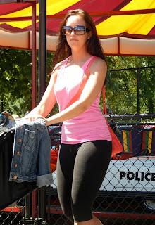 chica sexys leggins